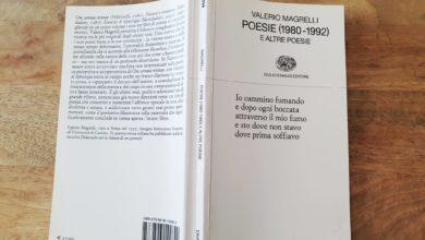 poesie valerio magrelli